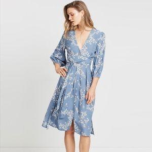 Anthropologie Faithfull Chloe Midi Dress Sz XL NWT